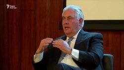 В сенате обсудят связи Тиллерсона с Россией