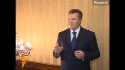 Янукович хакимияттән китүдән баш тарта