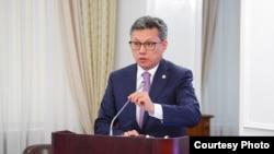 Министр торговли и интеграции Казахстана Бахыт Султанов.