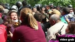 Столкновения защитников Куштау и силовиков, август 2020 года