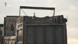 Із території підконтрольній угрупованню «ЛНР» проходить нелегальний трафік вугілля до Росії (відео)