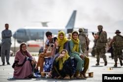 فرودگاه کابل، ۱۹ اوت ۲۰۲۱
