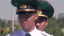 Border Ceremony As Kyrgyzstan Joins Eurasian Union