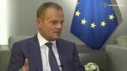 Дональд Туск про Україну, шенгенські візи і російську пропаганду
