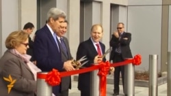 Kerry Dedicates Expanded U.S. Embassy In Kyrgyzstan