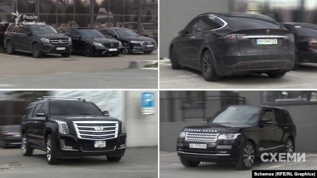 20 квітня «Схеми» помітили на парковці комплексу Koncha Zaspa Park понад десяток автівок преміум-класу, серед яких – Range Rover, зареєстрований на «слугу народу» Анатолія Гунька