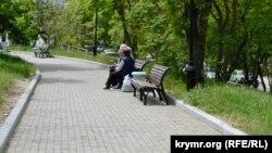 Жители Корабельной стороны приходят на Малахов курган как в обычный парк