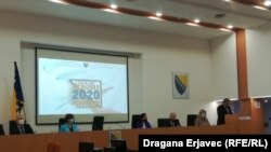 Konferencija za medije CIK-a BiH 15. oktobra 2020.