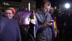 ЛГБТ-акція у Харкові пройшла під музику та без сутичок (відео)