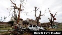 Чехиядаги торнадо