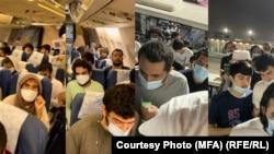 زندانیان رها شده از سوی عربستان