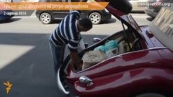 Допомогу із Харкова в Слов'янськ везли ретро-автомобілі