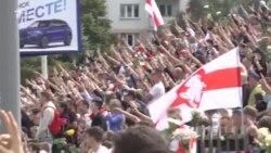 Мінськ: прощання із загиблим на протесті Олександром Тарайковським – відео
