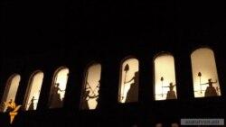 «Արծվաբերդ» օպերայի պրեմիերան՝ Շուշիի ուսումնարանի ավերված շենքի բակում