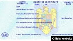 Model carte de identitate, martie 2021