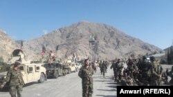 ارشیف، کونړ کې یو شمېر افغان ځواکونه