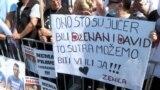 Bosnia and Herzegovina, Sarajevo, protests, Dženan Memić and David Dragičević