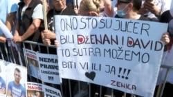 Protest za Dženana i Davida ujedinio Bosnu i Hercegovinu