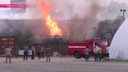 Бишкек: последствия взрыва газозаправочной станции
