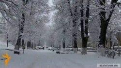 Առաջին ձյուն` Ղարաբաղում