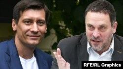 Дмитрий Гудков и Максим Шевченко, коллаж