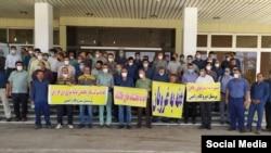 اعتصاب کارگران پیمانکاری و پروژهای نفت، دومین مورد از اعتراض گسترده آنان در کمتر از یک سال گذشته است.