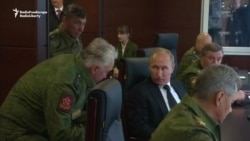 Putin Observes Zapad 2017 Military Exercises