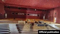 Кыргыз улуттук академиялык драма театрын оңдоого кошумча каражат бөлүндү. Бишкек. 14-сентябрь, 2021-жыл