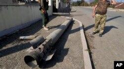 Карабах - В обстрелянном из «Смерча» Степанакерте, 20 октября 2020 г.