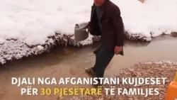 Djali afgan kujdeset për 30 pjesëtarë të familjes