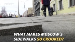What Makes Moscow's Sidewalks So Crooked?