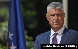 Presidenti i Kosovës, Hashim Thaçi.