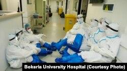 ექიმები კოვიდპანდემიის წინააღმდეგ, ბოკერიას საუნივერსიტეტო კლინიკა