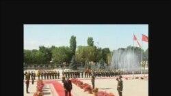 К. Бакиевдин президенттик ант берүү салтанаты