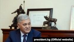 Дуйшенбек Чоткараев, муовини пешини раиси КДАМ-и Қирғизистон.
