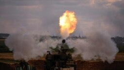 آتش توپخانه اسرائیل به سوی نوار غزه