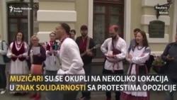 Bjelorusija: Podrška pjesmom i igrom
