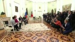 «Северный поток», Украина и Ливия: о чем говорили Путин и Меркель (видео)
