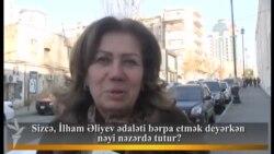 Sizcə, İlham Əliyev ədaləti bərpa etmək deyərkən nəyi nəzərdə tutur?
