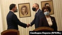 Даниел Митов и Румен Радев