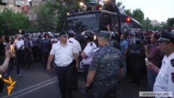 Armenian Police Disperse Crowd Protesting Rise In Power Prices