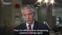 U.S. Ambassador Raises Concerns Over Russian Moves On Foreign Media