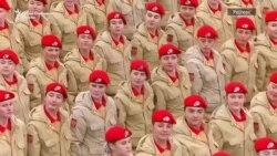 Путин на парадата за Денот на победата