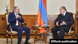 Հայաստանի նախագահի և վարչապետի հանդիպումը, Երևան, 13-ը մարտի, 2021թ․