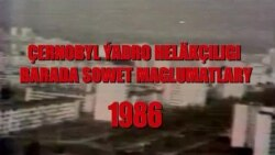 Sowet mediasy Çernobyl barada
