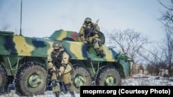 Exerciții militare în regiunea transnistreană
