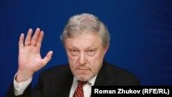 Григорий Явлинский, Председатель Федерального Политкомитета партии «Яблоко»