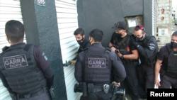 ارشیف، یو شمېر برازیلي پولیس