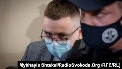 Сергій Стерненко в залі суду