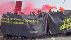 Neredi na protestu antiglobalista u Hamburgu